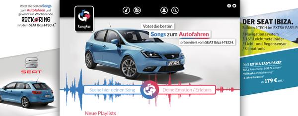 SongFors Werbekampagne für SEAT verlief sehr erfolgreich