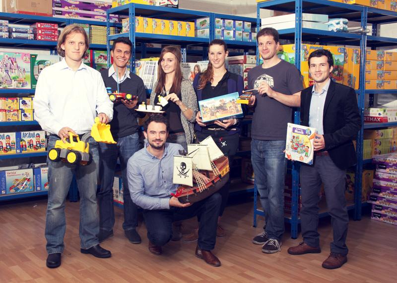 Business Angels investieren sechsstellige Summe in Meine-Spielzeugkiste!