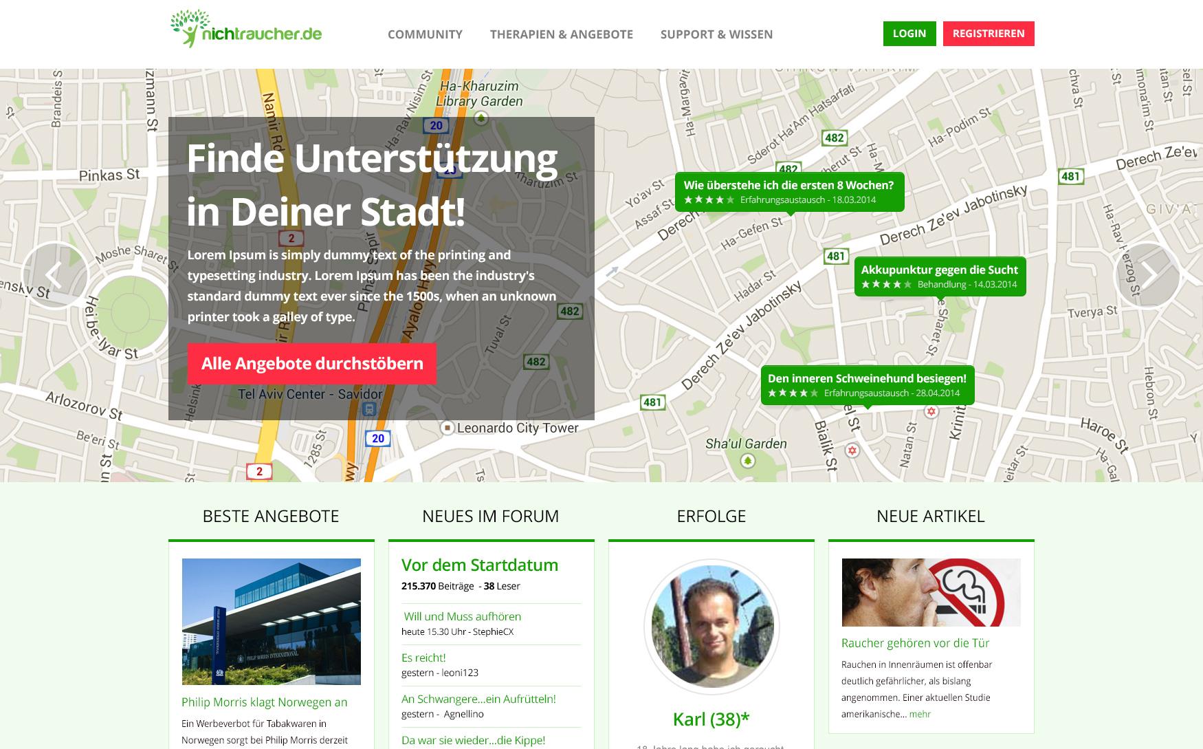 nichtraucher.de Expands Its Team and Presents Its New Design