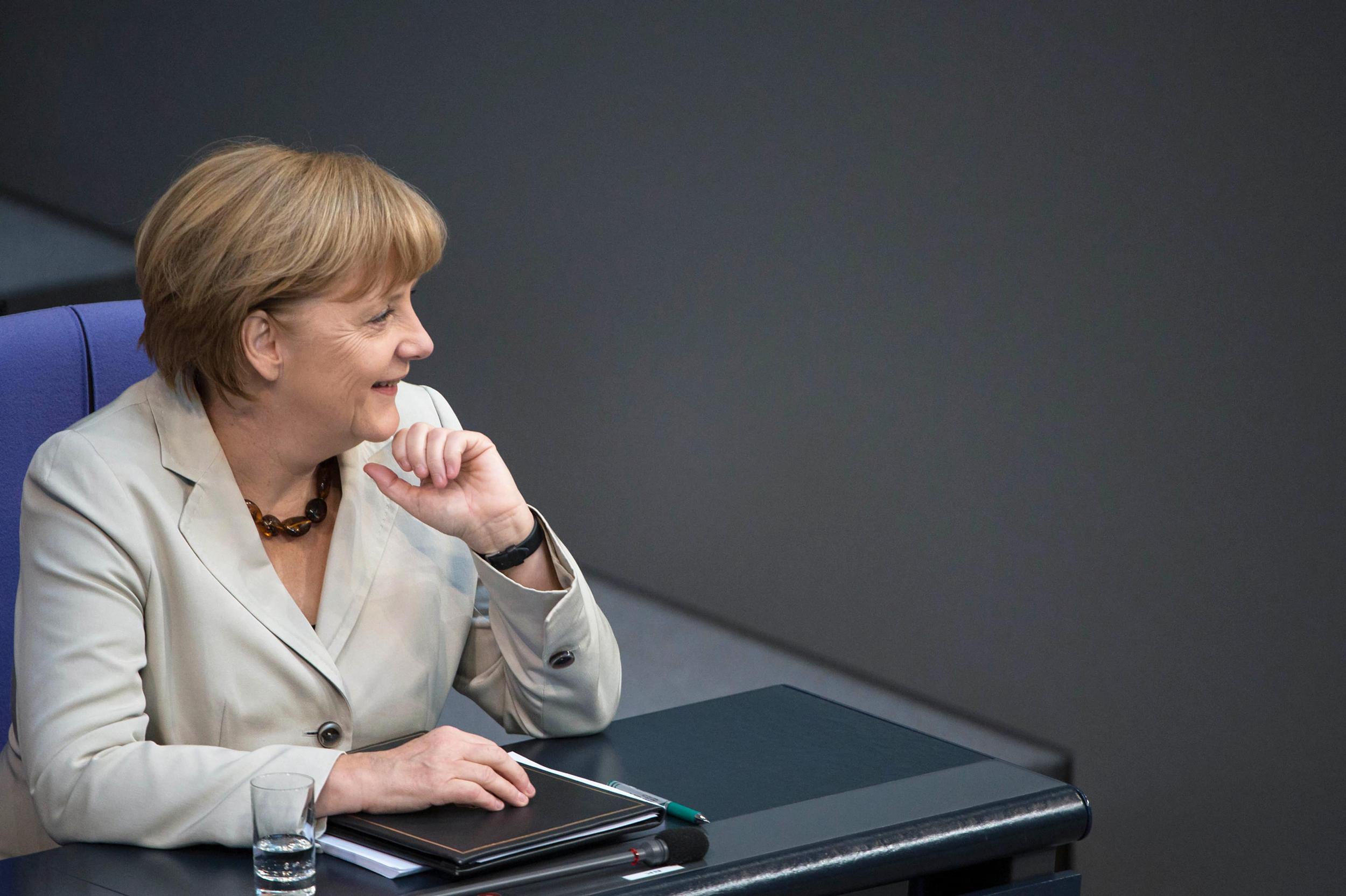 German Chancellor Merkel Advocates Better Conditions for Start-ups