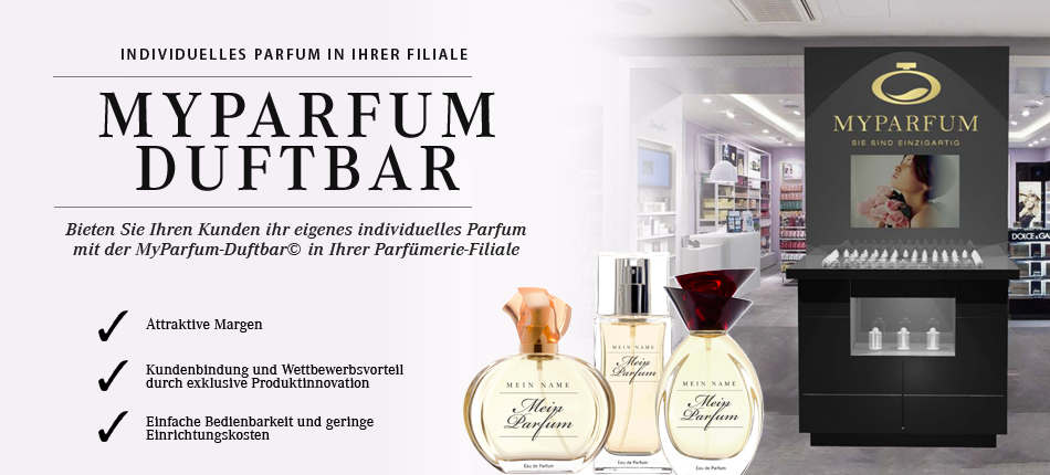 World Premiere of the MyParfum Scent Bar at the Global Art of Perfumery
