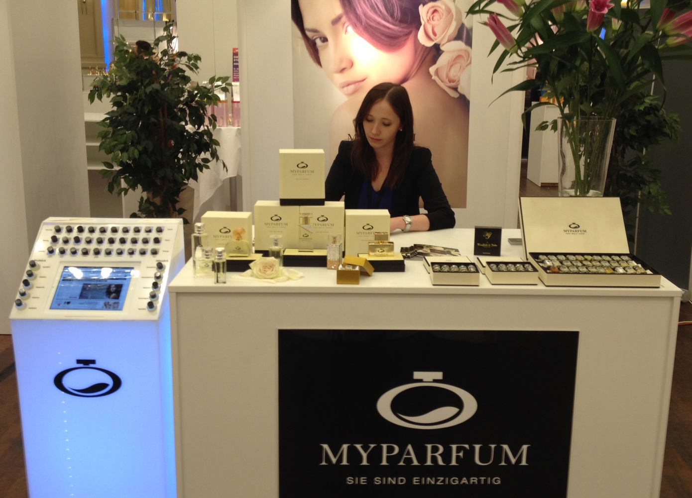 Presale of the MyParfum Scent Bar at the Global Art of Perfumery a Huge Success