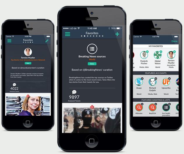 Tame launcht kostenfreie iPhone-App