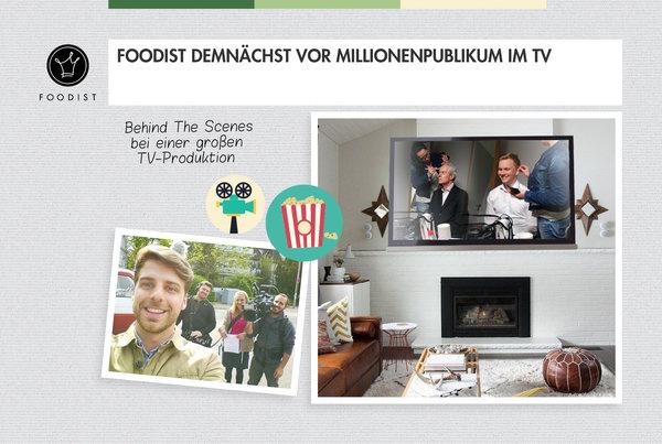 Foodist präsentiert sich im TV