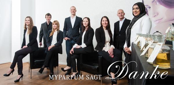 Endspurt bei MyParfum und Nominierung für Innovation-Award