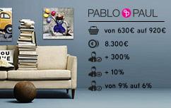Besucherzahlen bei Pablo & Paul seit Kampagnenbeginn um 300 Prozent gestiegen