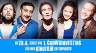 Video-Teaser: Am 28.04.15 startet das erste Crowdinvesting für einen Kinofilm auf Companisto