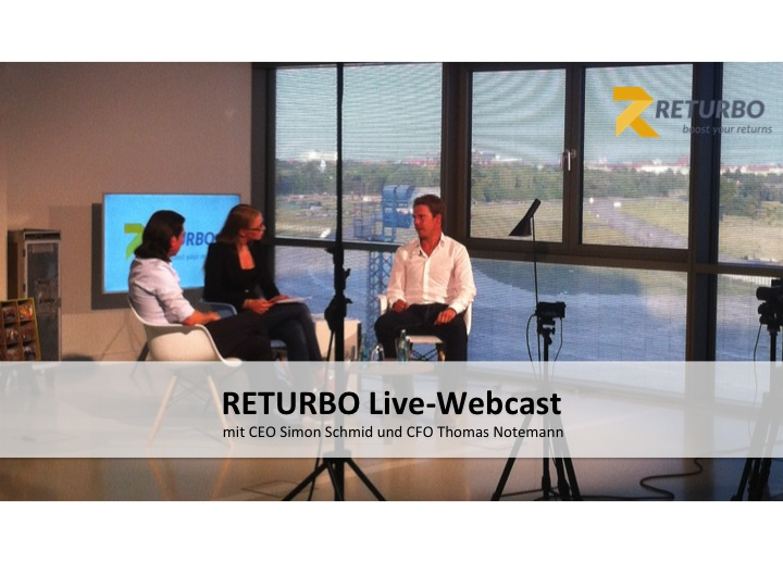 RETURBO Live Webcast Now Available as a Video
