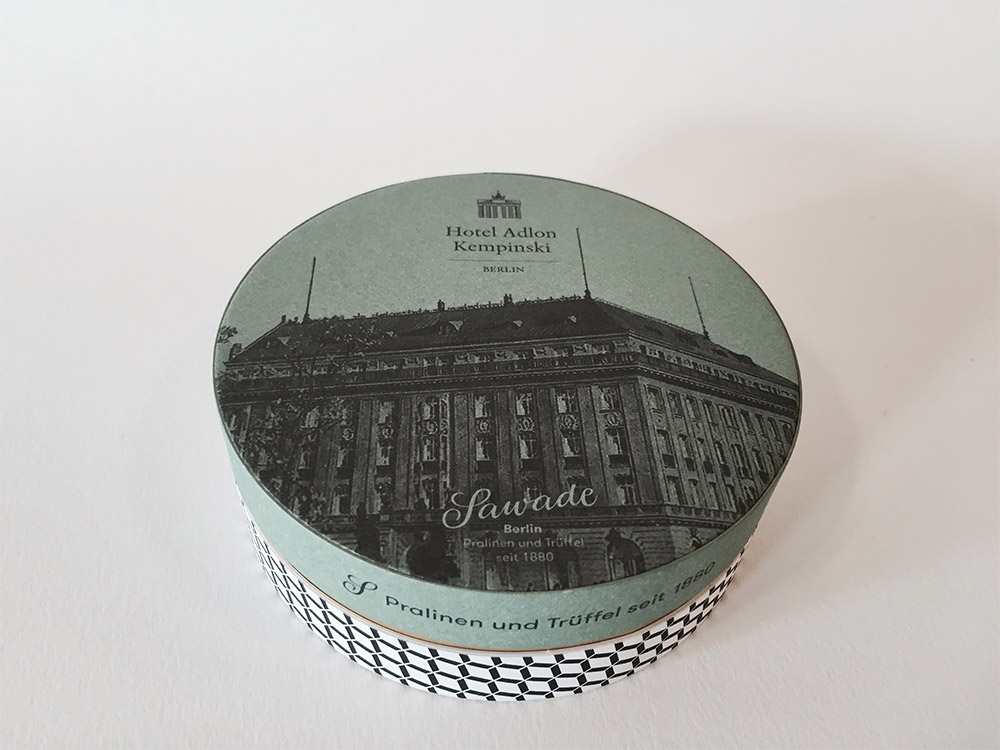 15,000 Sawade Chocolate Boxes for Hotel Adlon