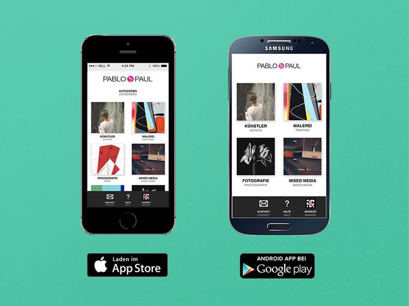 New Pablo & Paul App