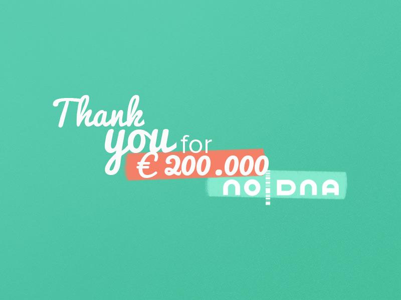noDNA Raises over 200,000 Euros and Announces Web Meeting