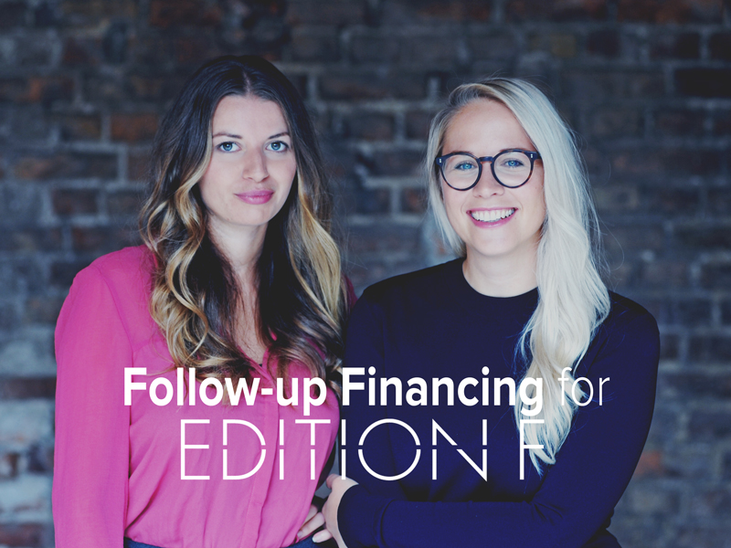 EDITION F Completes Another Financing Round