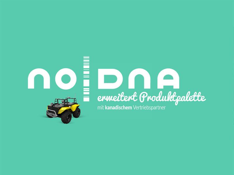 noDNA erweitert seine Produktpalette mit neuen Artikeln eines kanadischen Herstellers