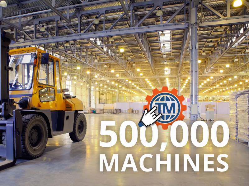 TradeMachines Is Now Offering the Largest Range of Used Machines in Europe