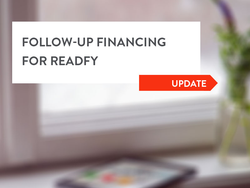 Readfy Completes Financing Round