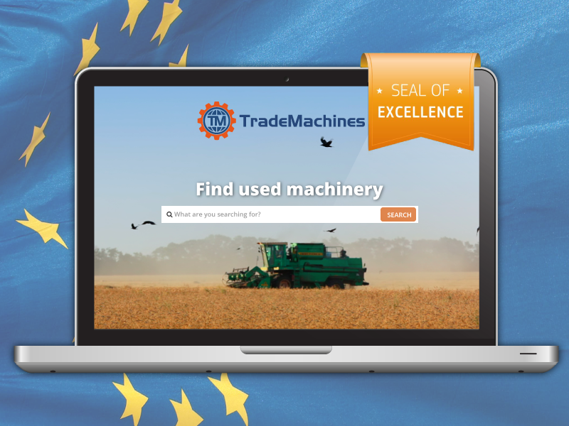 TradeMachines Awarded Seal of Excellence by EU
