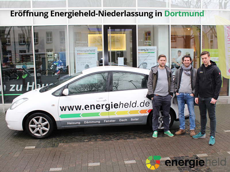 energieheld eröffnet neue Niederlassung in Dortmund