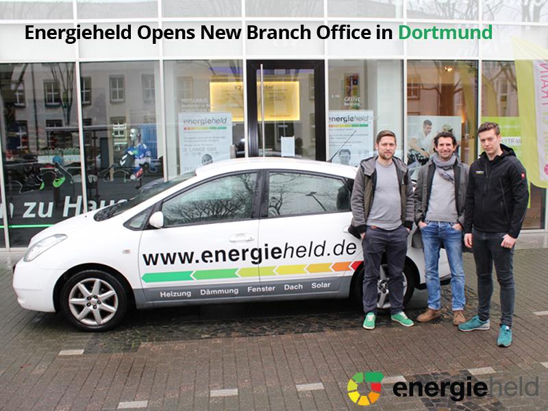 Energieheld Opens New Branch Office in Dortmund