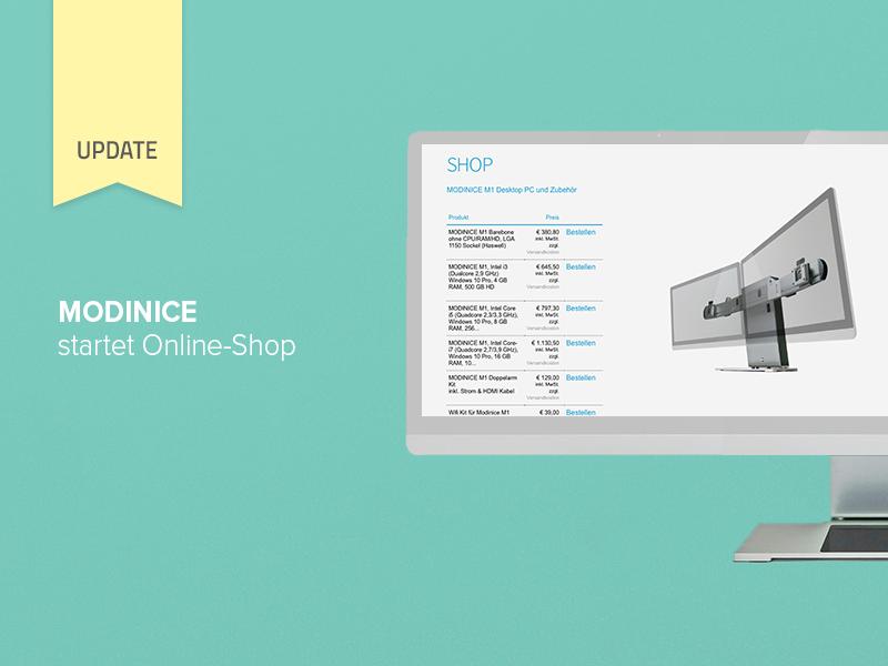 MODINICE startet Online-Shop und beantragt Markenanmeldung für weitere internationale Märkte