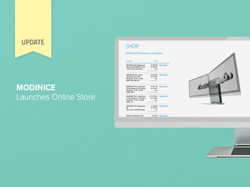 MODINICE Launches Online Store and Applies for Trademark in Additional International Markets
