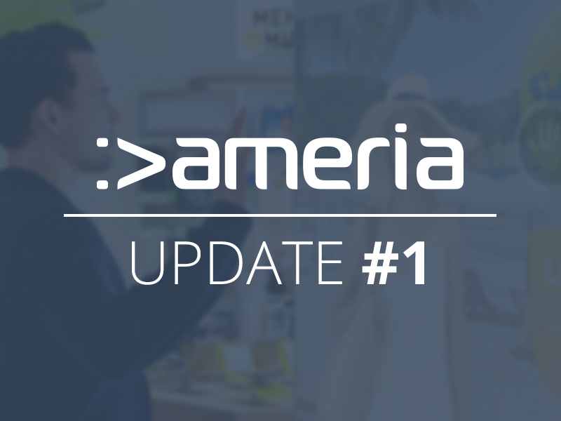 Spectacular campaign launch for ameria