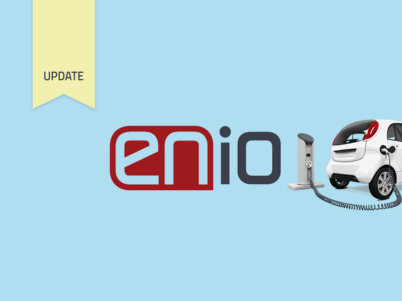E-mobility on the rise - ENIO is optimizing web application and payment options