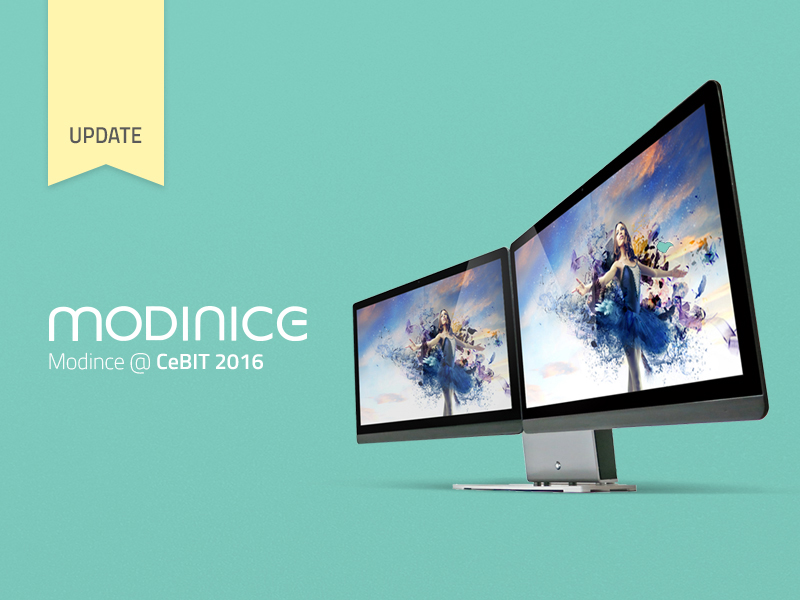 MODINICE Pitches at CeBIT