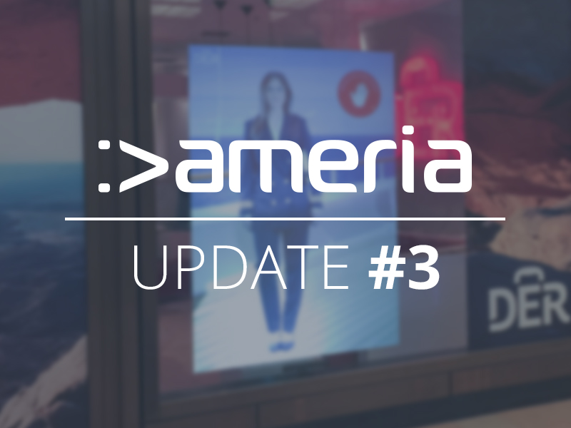 Virtual Promoter from ameria at travel agency DER Reisebüro