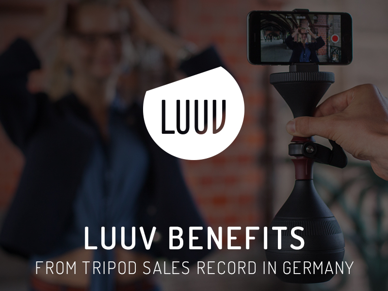 LUUV benefits from tripod sales record in Germany