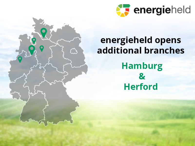 energieheld Opens Additional Branches