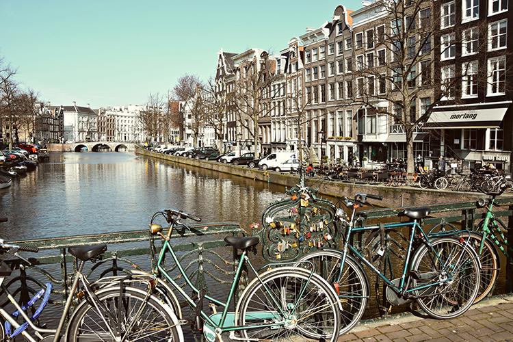 Starten in Amsterdam