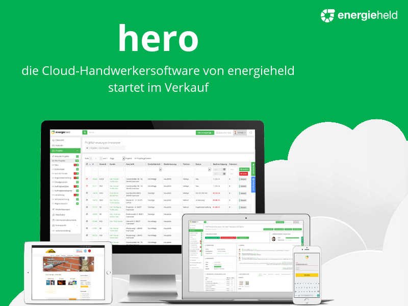 energieheld verkauft erstmals eigene Software und sichert sich 94.200 Euro EU-Fördermittel
