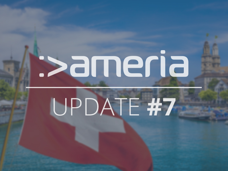 ameria extends campaign & Swiss investor invests 200,000 euros