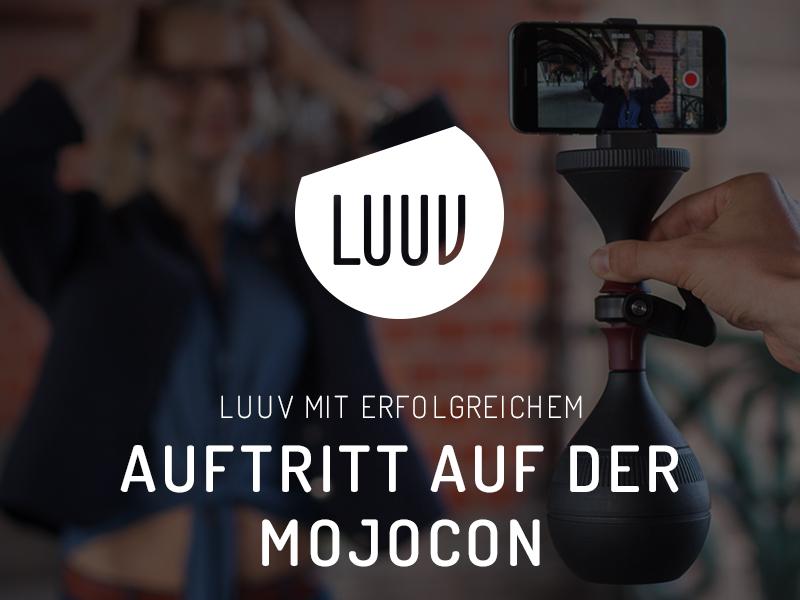 LUUV mit erfolgreichem Auftritt auf der Mojocon