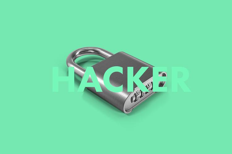 Portrait eines Hackers