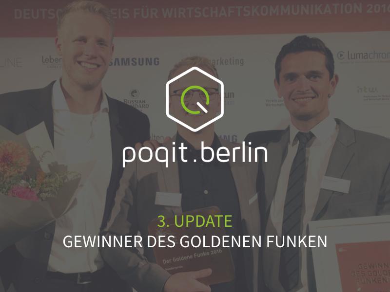 Gewinner des Goldenen Funken 2016