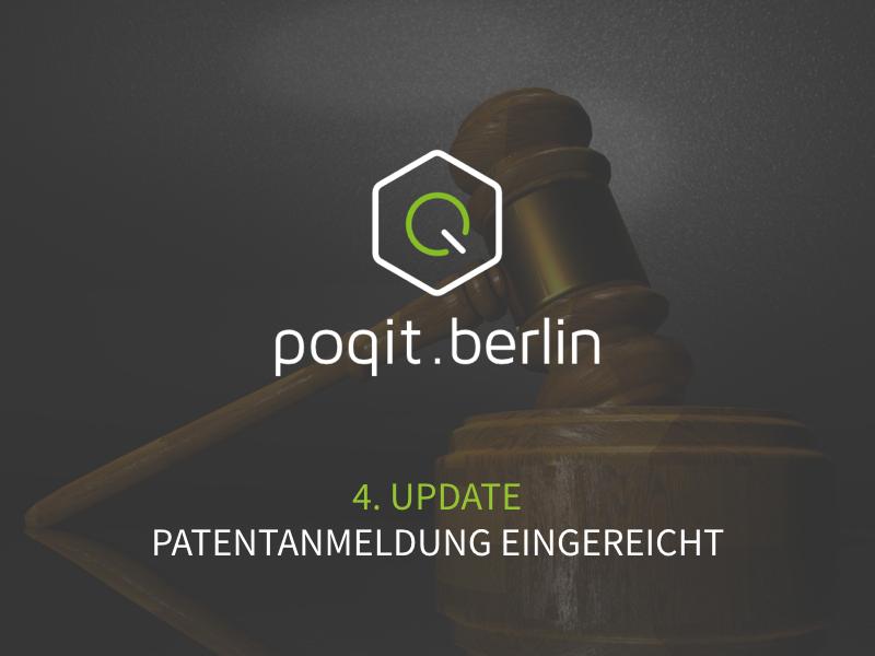 poqit.berlin hat die Patentanmeldung eingereicht