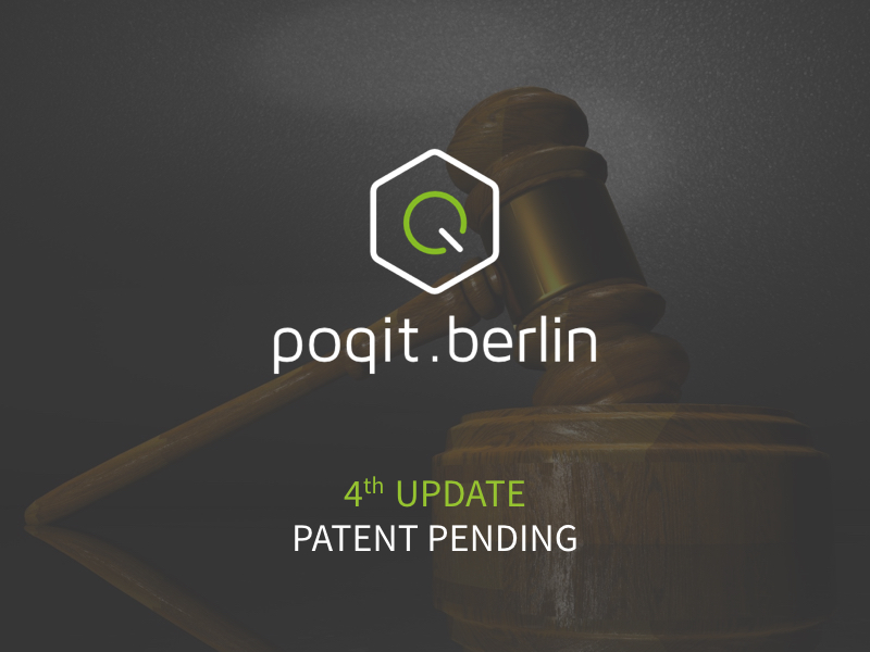 poqit.berlin Submits Patent Application