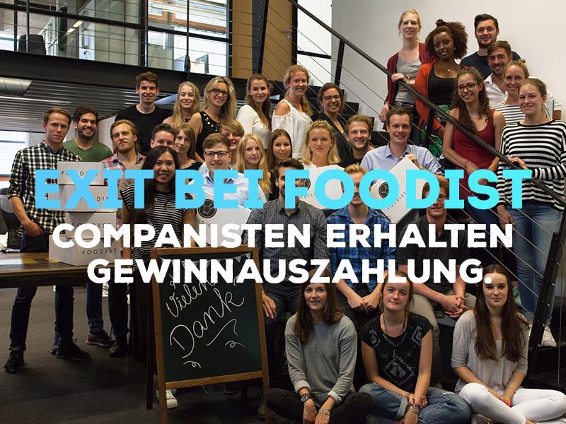 Foodist: Exit beim crowdfinanzierten Startup!