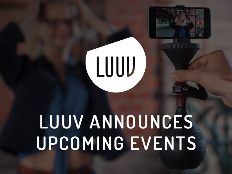 LUUV Announces Upcoming Events