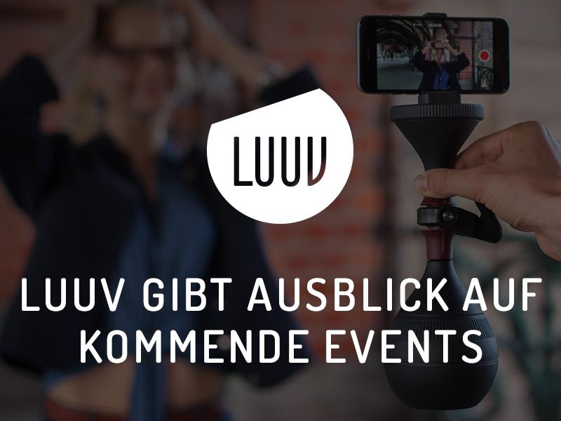 LUUV gibt Ausblick auf kommende Events