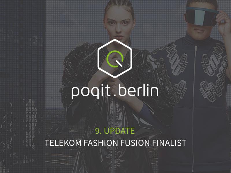 poqit.berlin ist beim Fashion Fusion Programm der Deutschen Telekom dabei