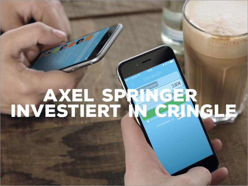 Axel Springer investiert siebenstellig in Cringle