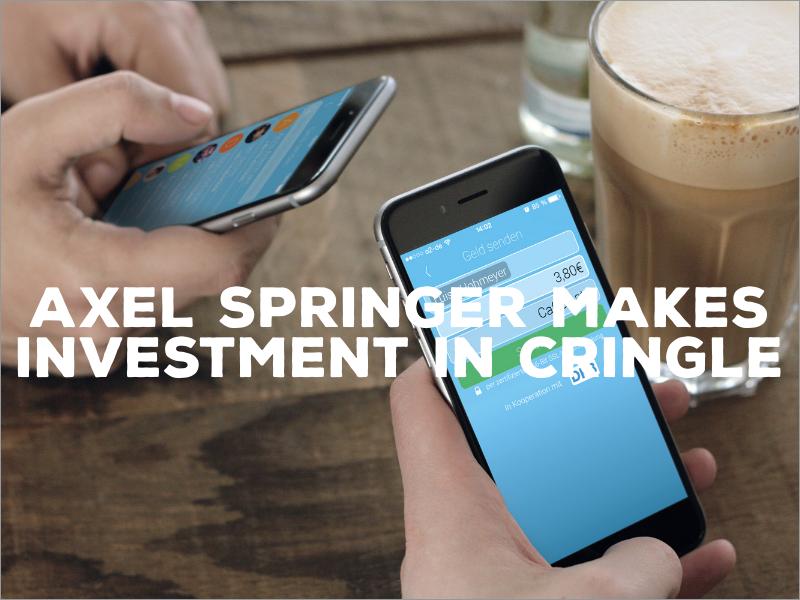 Axel Springer Makes Seven-Digit Investment in Cringle
