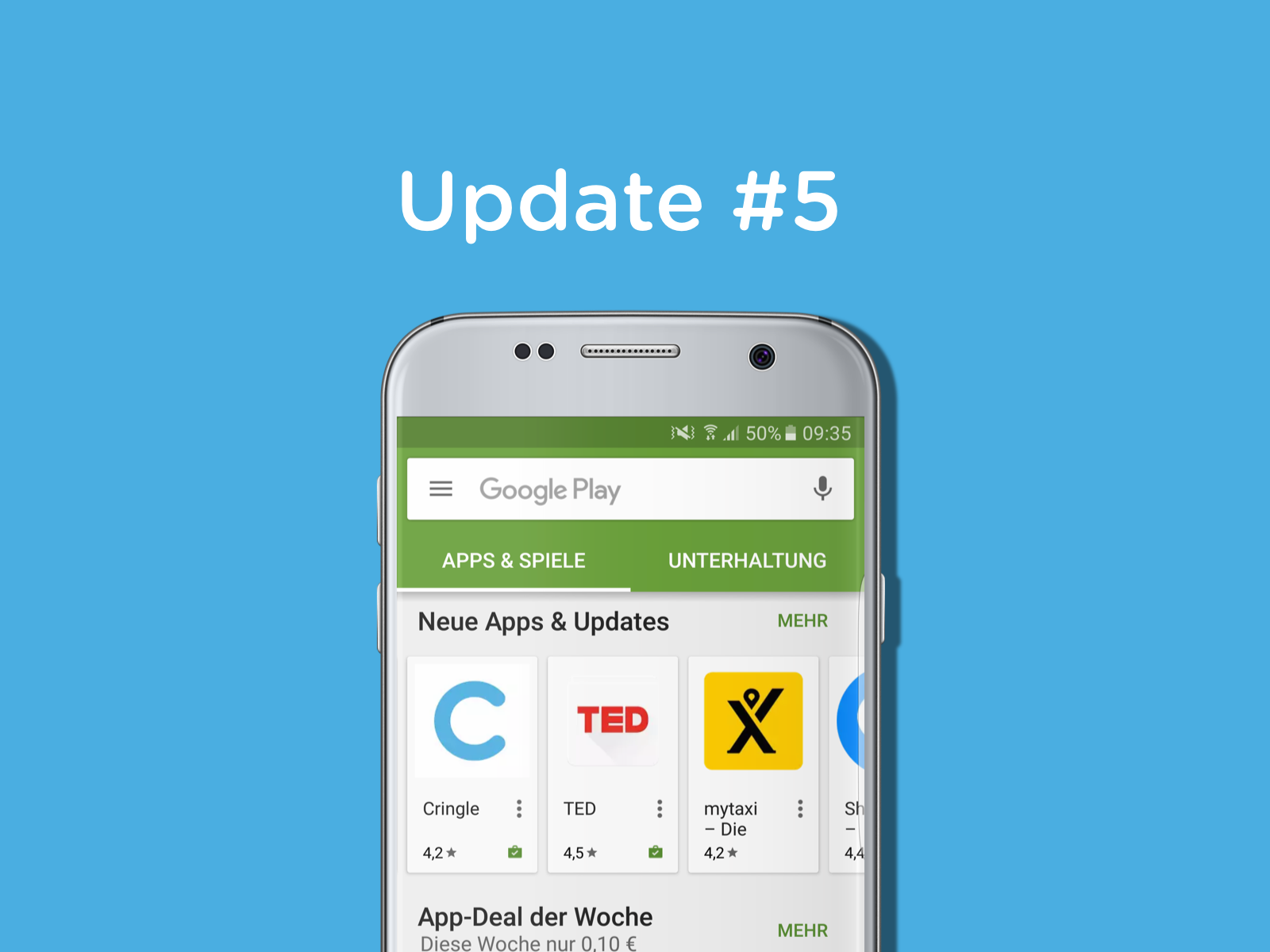Cringle – Kollaboration mit Google Play