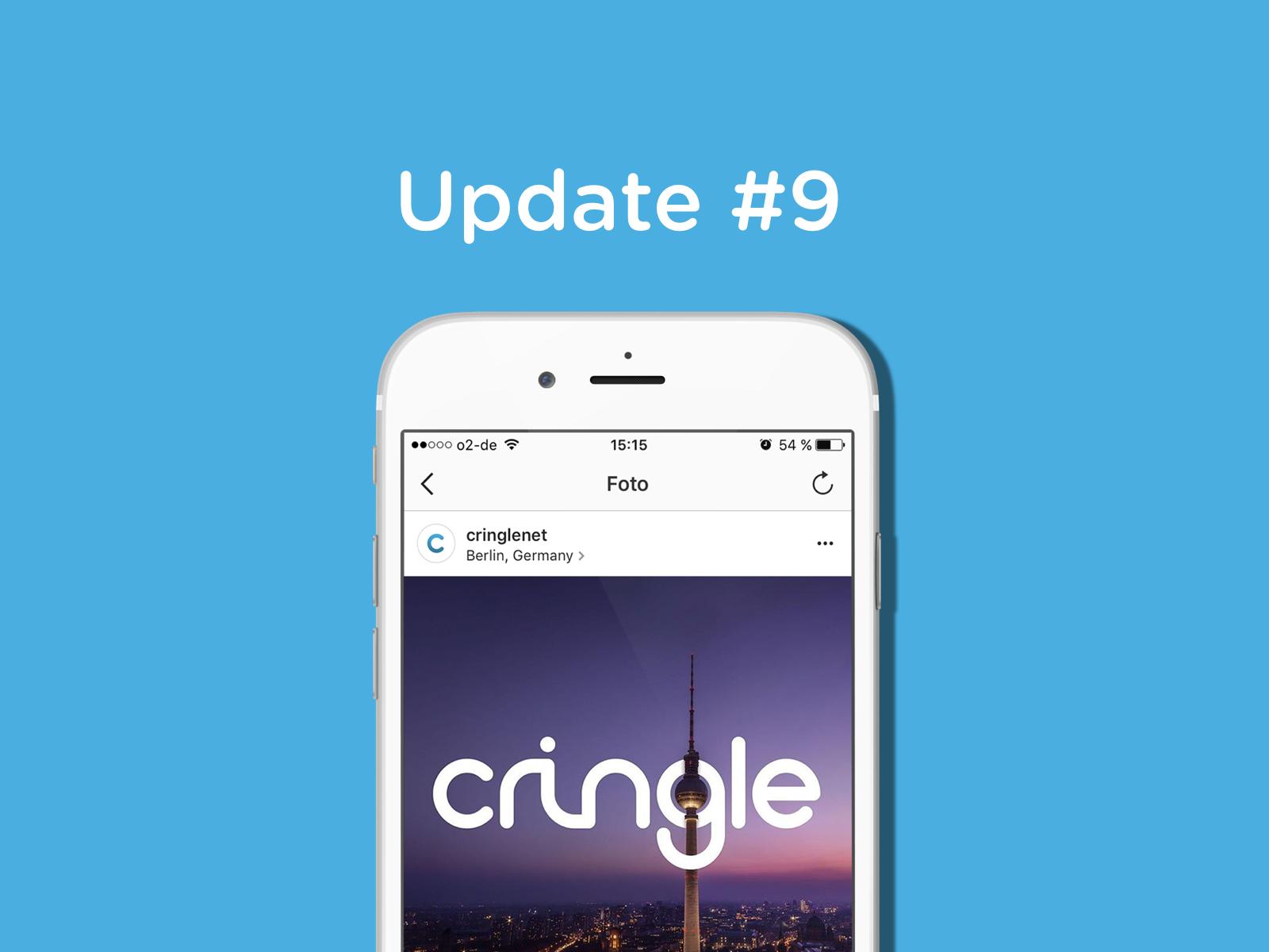 Cringle – treffe uns auf der Startupnight