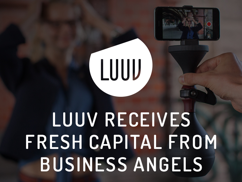 LUUV receives fresh capital from business angels