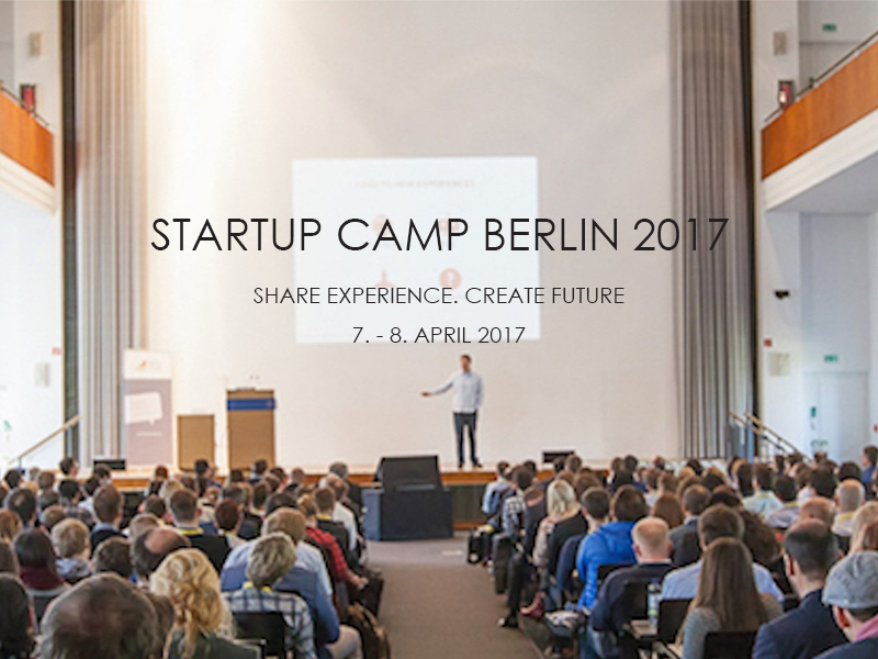 Companisto - media partner of Startup Camp in Berlin