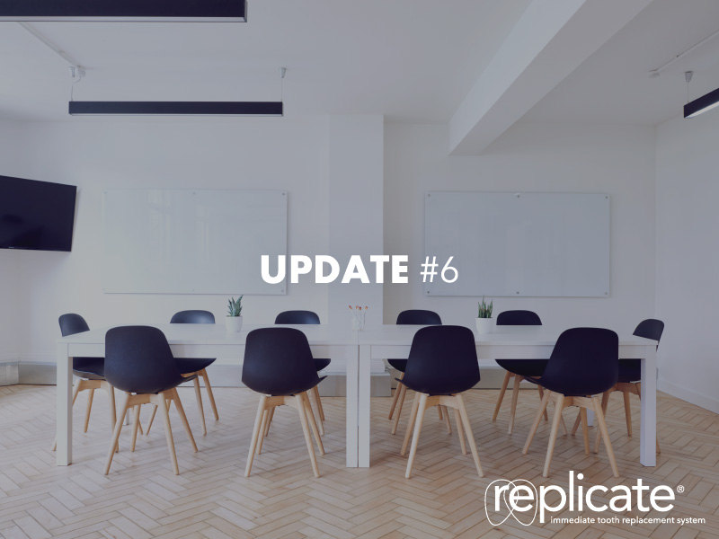 Growth in orders for the REPLICATE® System accelerates relocation plans