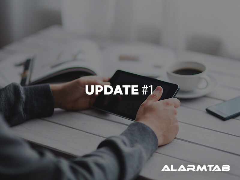 A Strong Campaign Start – Alarmtab says thank you!